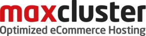 Logo maxcluster Optimized eCommerce Hosting